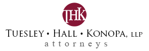 Northern Indiana law firm Tuesley Hall Konopa, LLP, South Bend, Elkhart, Cassopolis, MI